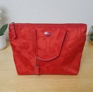 ❤Red coach bag❤